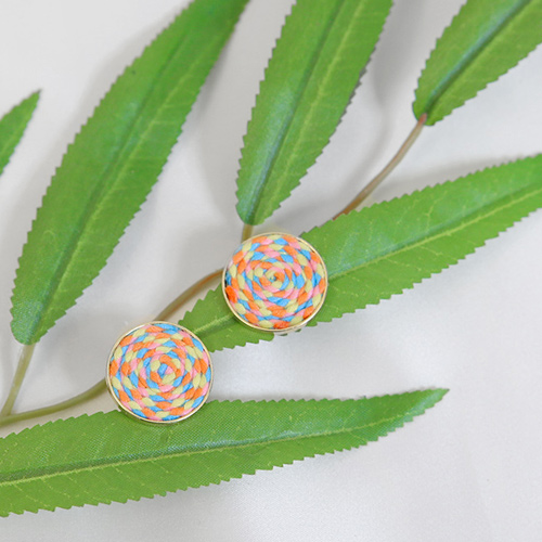 lollipop candy earring