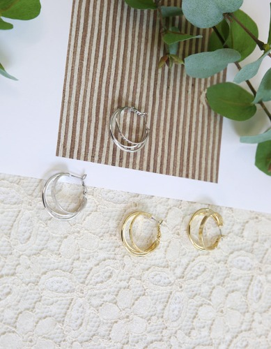 chic layered earring