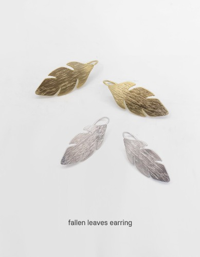fallen leaves earring